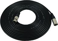GLS XLR Balanced Microphone Cable - 25 Foot